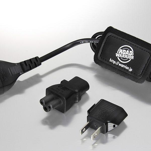 RWG51 高電圧対応ノートPC用電源ケーブル エルバック60